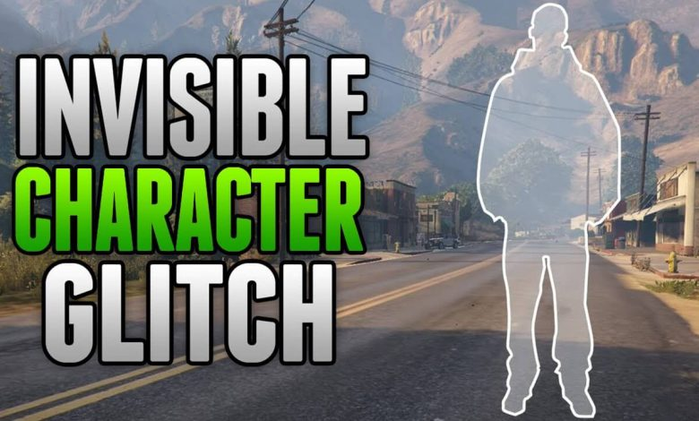 INVISIBLE CHARACTER GLITCH (TUTORIAL)